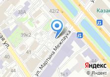 Компания «Бистро на Мартына Межлаука» на карте