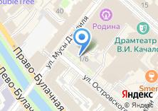Компания «Продуктовый магазин на ул. Островского» на карте