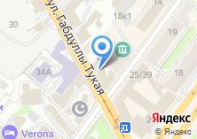 Компания «Рахат-тур» на карте