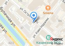 Компания «Строящееся административное здание по ул. Островского» на карте