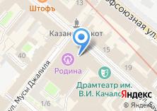 Компания «Азимут360» на карте