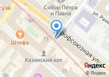 Компания «Вечернее» на карте