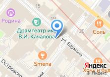Компания «В центре» на карте