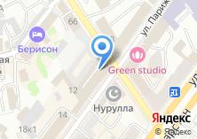 Компания «Айша» на карте