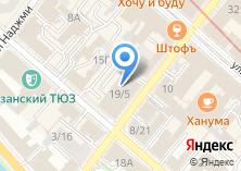 Компания «АЗС-карт» на карте
