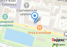 Компания «Юникредит банк» на карте