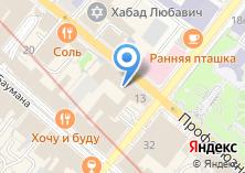 Компания «Банзай» на карте