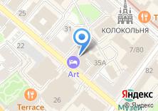 Компания «Hotel Art» на карте