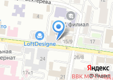 Компания «СтройКультПроект» на карте