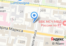 Компания «Управление МВД РФ по г. Казани» на карте