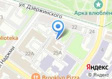 Компания «STARTEAM» на карте
