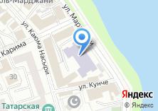 Компания «Казанский колледж технологии и дизайна» на карте