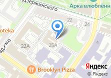 Компания «Ананас-сайт» на карте