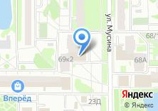 Компания «Конти» на карте