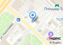Компания «Аварийно-диспетчерская служба по уличному освещению» на карте