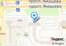 Компания «КВАДРАТ ОКНА» на карте