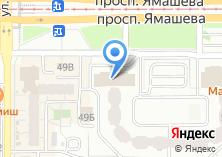 Компания «Престиж мебель» на карте