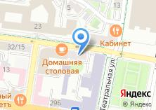 Компания «Детская художественная школа №1» на карте