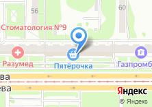 Компания «Фея сеть магазинов тканей» на карте