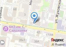 Компания «Кинэш» на карте