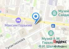 Компания «Тинькофф» на карте
