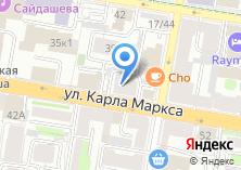 Компания «ЗЕФИР LOUNGE» на карте