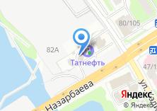 Компания «Татнефть-центр» на карте