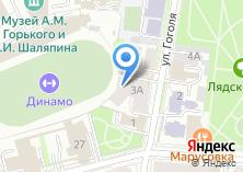 Компания «КОРД ОПТИКА, СЕТЬ САЛОНОВ ОПТИКИ Г. КАЗАНЬ.» на карте