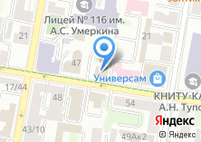 Компания «Ульяновсккурорт» на карте
