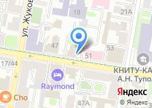 Компания «Татарстан» на карте