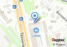 Компания «Форест» на карте