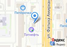 Компания «ТатНефть» на карте