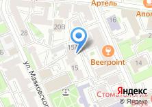 Компания «АМБИЦИЯ» на карте