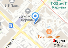 Компания «Камыр Батыр» на карте