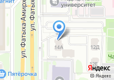 Компания «Миллидент» на карте