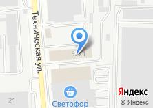Компания «Автозапчасти для УАЗ» на карте