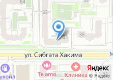 Компания «ГСИ-Гипрокаучук» на карте