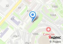 Компания «Luv» на карте