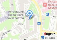 Компания «Аттестационный научно-технический центр сварочного оборудования и технологий» на карте