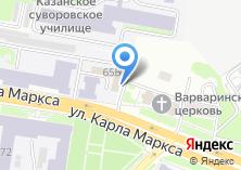 Компания «Общежитие КГАУ» на карте