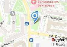 Компания «Комфест» на карте