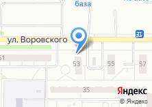 Компания «Продуктовый магазин на ул. Адоратского» на карте