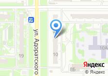 Компания «Комплект-Авто торговая компания» на карте