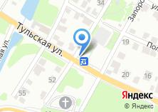 Компания «Продуктовый магазин на Тульской» на карте