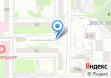 Компания «Автостоянка на ул. Адоратского» на карте