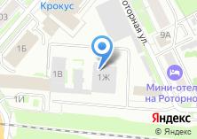 Компания «Альфа ПРОФ» на карте