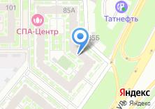 Компания «Аяз» на карте
