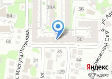 Компания «КамаТехСтрой» на карте
