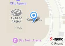 Компания «Федерация Чир спорта и Черлидинга Республики Татарстан» на карте