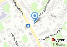 Компания «Продуктовый магазин на Моторной» на карте